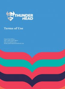 Thunderhead Terms of Use